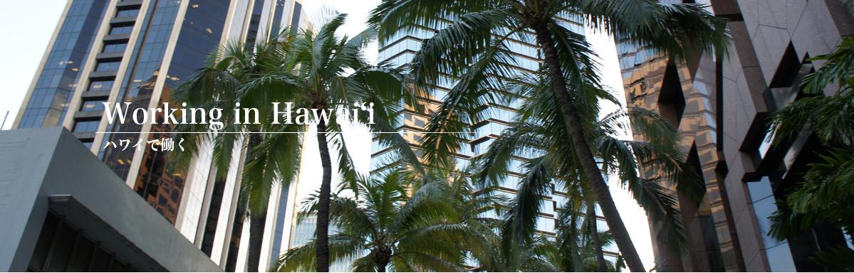 ハワイで働く