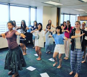 グローバルビレッジハワイ, Global Village Hawaii, GV, ハワイ留学, フラダンス