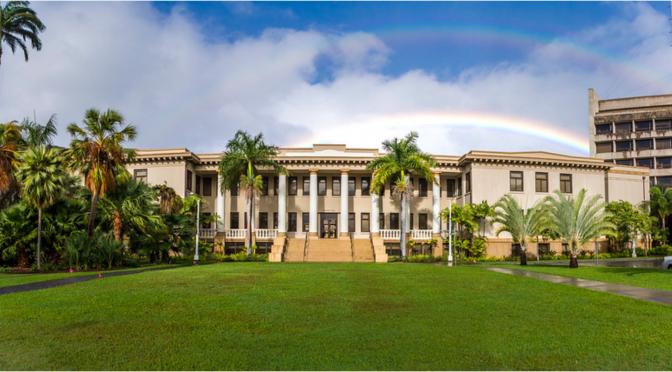 ハワイ大学マノア校、University of Hawaii at Manoa、語学留学